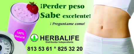 microperforado herbalife 1.43 x .58 cms